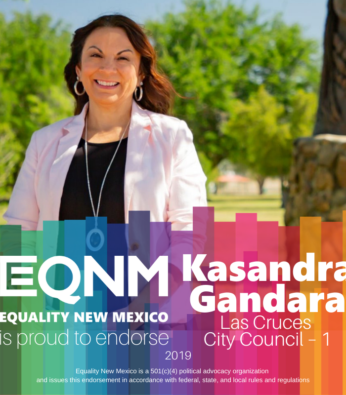 EQNM Announces Endorsement for Kasandra Gandara